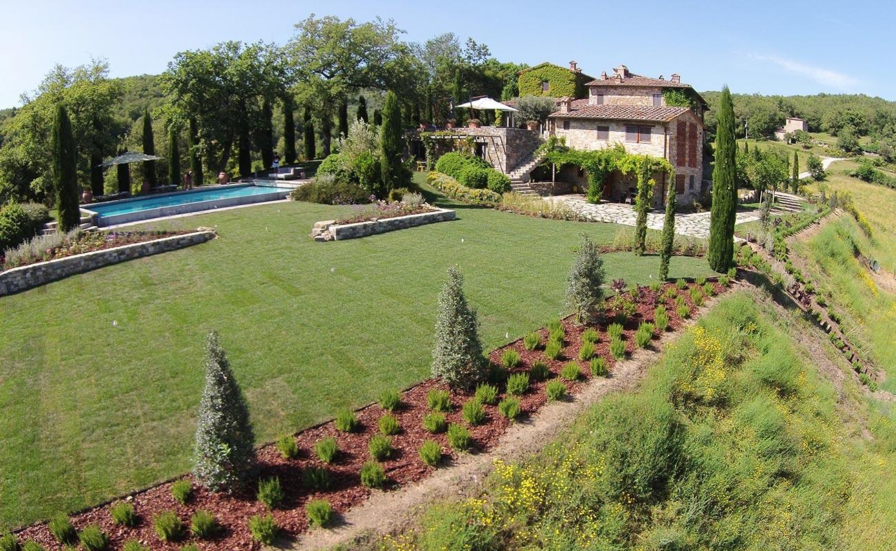 Private Garden - Radda in Chianti - Italy